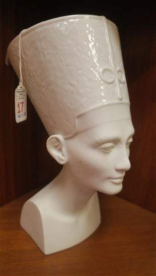 ROSENTHAL Germany Nefertiti Bust: