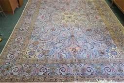 """Hand Loomed Mashhad Wool Persian Rug; 9' 10"""" x 13':"""