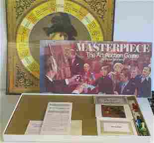 MASTERPIECE, THE ART AUCTION GAME, by Parker Brothers: