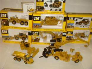 13 CATERPILLAR COLLECTOR MODELS 1/50 & 1/30 Scale: