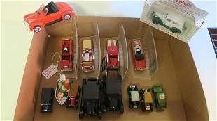 Miniature Model FIRE TRUCKS and MODEL T'S