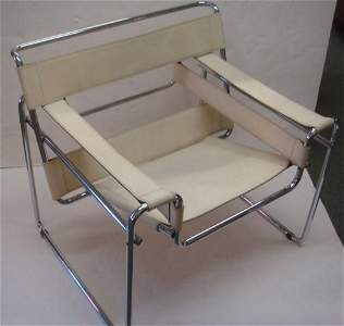 MARCEL BREUER, WASSILY CHAIR, KNOLL FURNITURE: