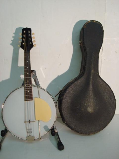 1714: GIBSON MB 1 8 String Banjo Mandolin CA 1920: