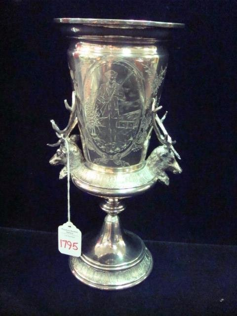 1795: Silver Plate Reed and Barton Hunter's Trophy Cup: