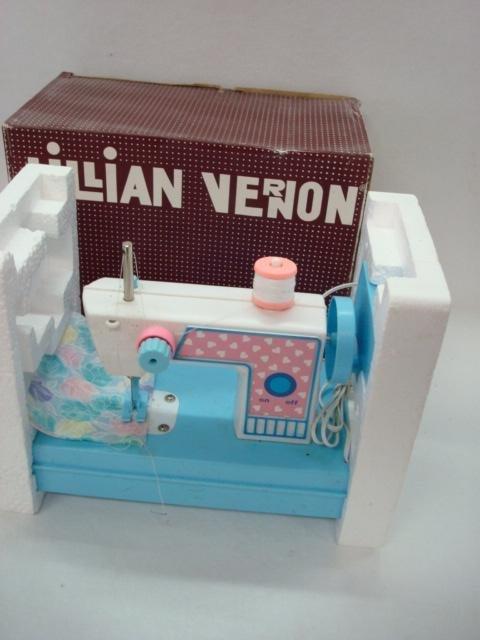1012: LILLIAN VERNON 1188 B/0 Toy Sewing Machine:
