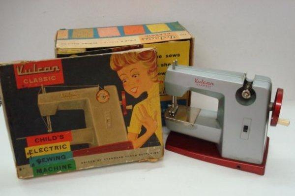 1013: VULCAN CLASSIC Child's Electric Sewing Machine: