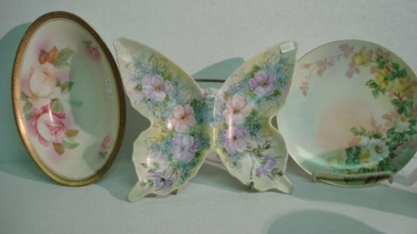 16: 5 Pieces of Hand painted China: