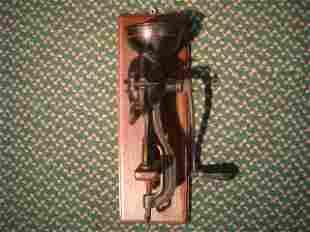 Antique Enterprise Mfg. Co. Cast Iron Grinder: