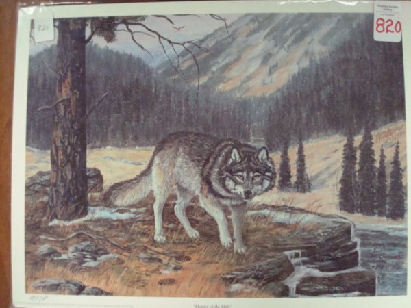 "820: PS/ # Print JANE McCAULY ""Hunter of the Hills"":"