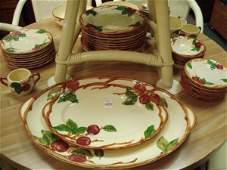 1429 Set Of FRANCISCAN Apple Dinnerware