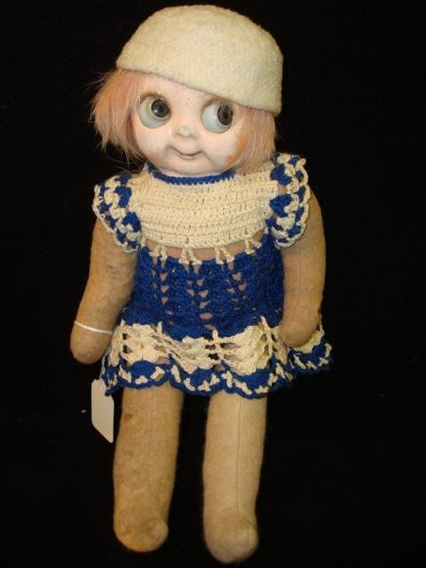 3: Goodly Eyed Little Bright Eyes Compo Mask Face Doll: