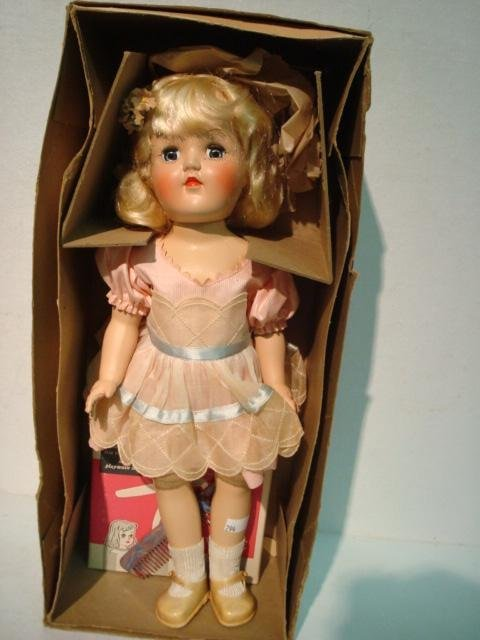 6A: 1950's Ideal Toni Doll in Box: