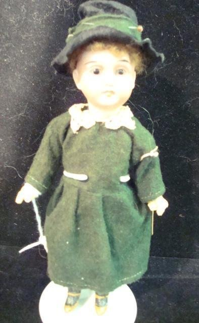 10: German Bisque Doll Marked 44-17: