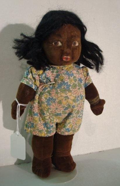 15: NORAH WELLING Fabric Doll: