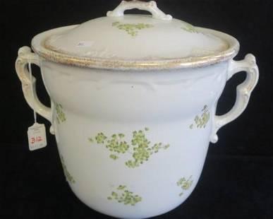 Large Lidded Chamber Pot
