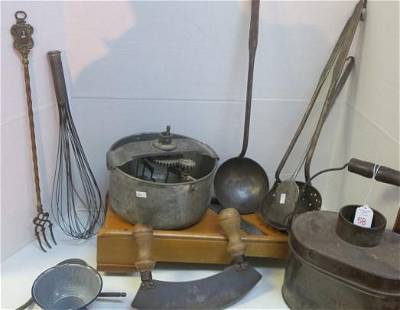 More Antique Kitchen Items Including LISK Lunch Pail