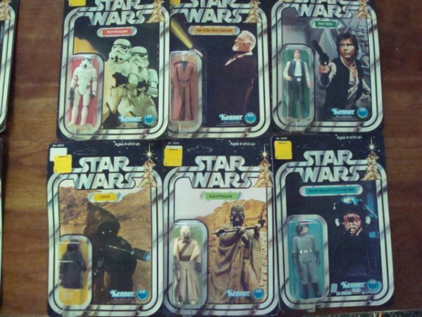 378:  ALL 12 12-Back Star Wars Action Figures, Mint in - 3
