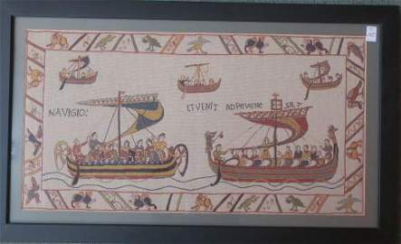 Embroidery Replica of Scenes from BAYEUX TAPESTERY: