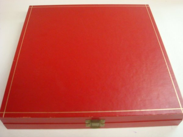 "11:  CARTIER Pewter 11"" Plate in Original Box: - 3"