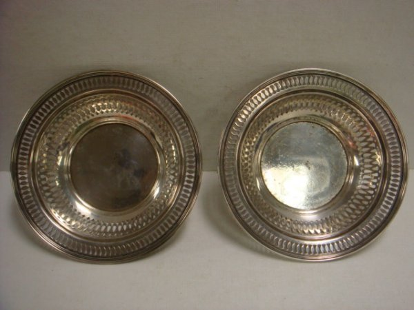 15: Pair of TIFFANY & CO Sterling Silver Bowls: