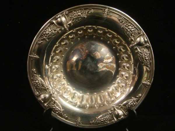 16: WHITING Sterling Silver Bowl: