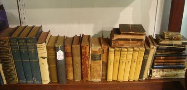22: Collection of 19th and 20th Century Books: