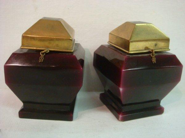 194: Pair of BACCARAT Myon Perfume Bottles:
