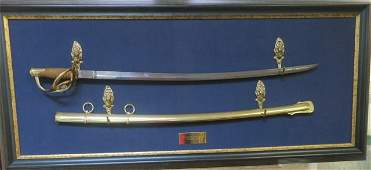 US Army Model 1860 Light Cavalry Saber Replica: