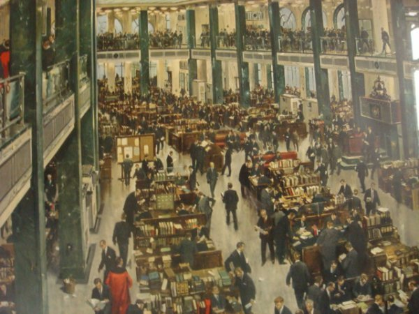 149: TERENCE CUNEO 1965 Underwriters Room at Lloyds: - 2