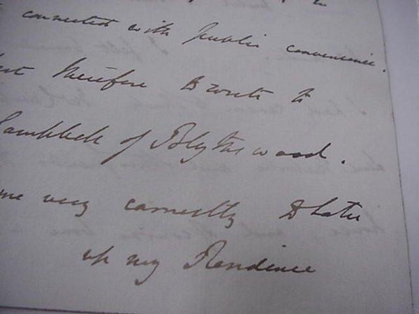 2: Sir Robert Peel, Autograph, Prime Minister