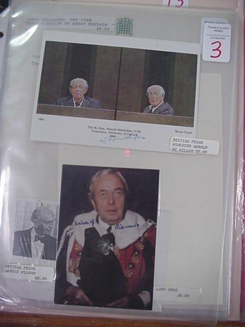 3: Harold Macmillan and Harold Wilson  Prime