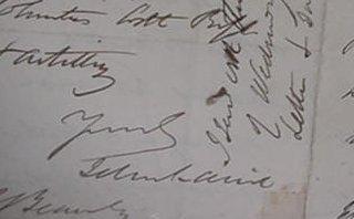 7: John Laird, Autograph Handwritten Letter