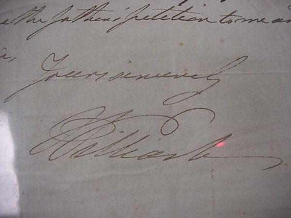 10: William IV, Royally, Autographed Letter