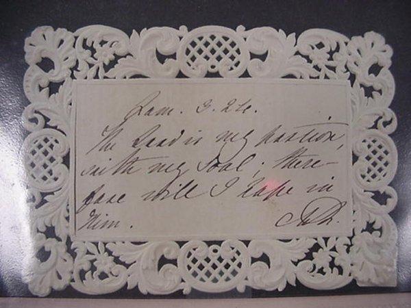 12: Adelaide, Queen of England, Autograph  A