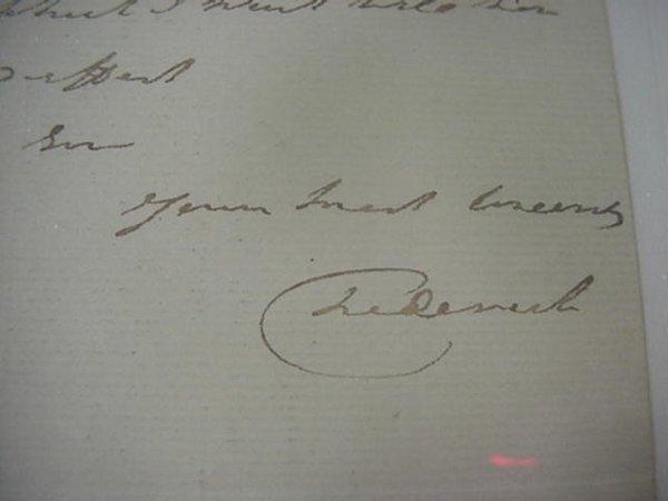 16: Frederick Duke of York and Albany  Signed