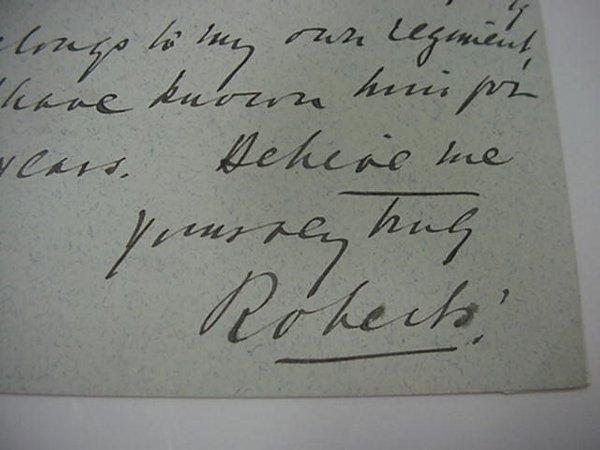 24: Lord Roberts, British Field Marshall  Han
