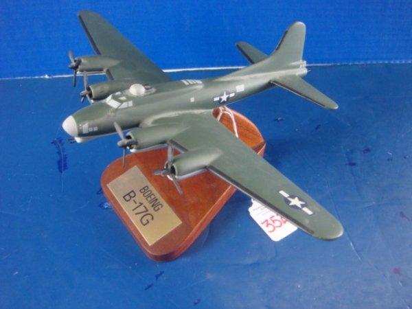 352: Desk Top Model B-17G: