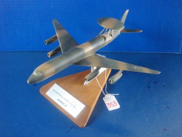 353: Desk Top Model McDonnell Douglas AWACS:
