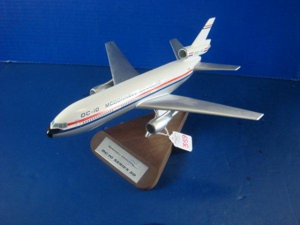 359: Desk Top Model McDonnell Douglas DC-10 Series 30: