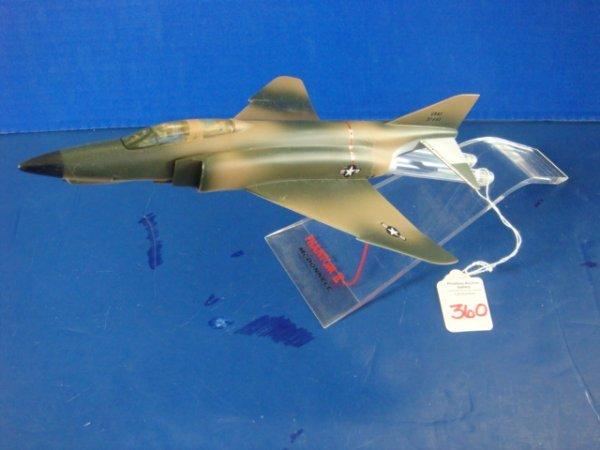 360: Desk Top Model McDonnell Douglas F-4E Phantom II: