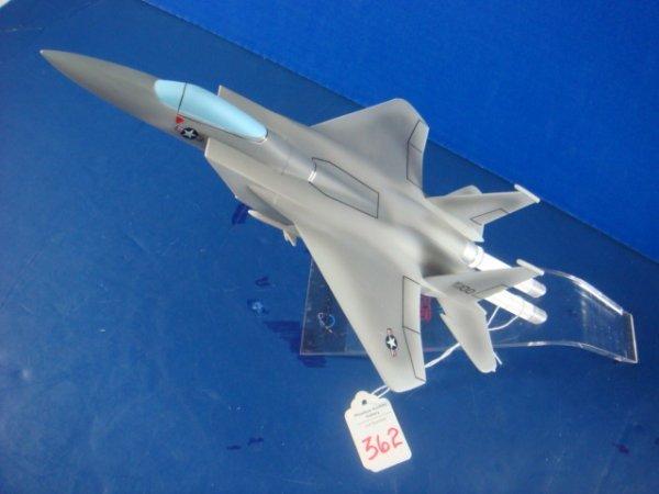 362: Desk Top Model McDonnell Douglas F-15 Eagle:
