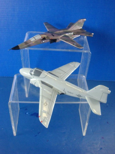 366: Desk Top Model F-111 and Navy A-6: