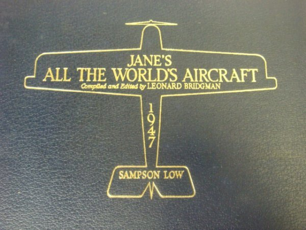 367: 1947 JANE'S ALL THE WORLD'S AIRCRAFT: