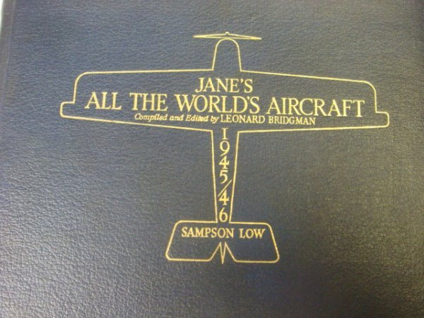 368: 1945/46 JANE'S ALL THE WORLD'S AIRCRAFT: