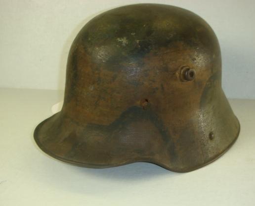 494: World War 1 German Army Helmet: