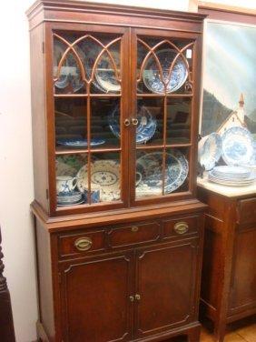 15 1930u0027s mahogany duncan phyfe small china cabinet