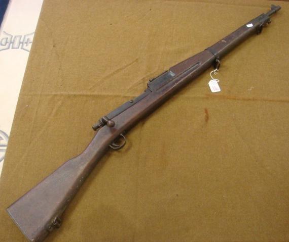 16: MARK 1 US NAVY DUMMY Training Rifle:
