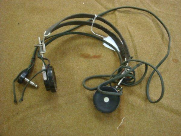 20: Radioman's Head Set: