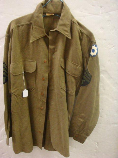 24: US ARMY World War II Wool Field Shirt: