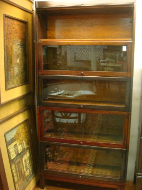 240h Lundstrom 5 Tiered Barrister Bookcase